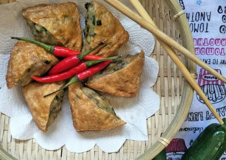 Steps to Prepare Speedy Meat Filling Tofu