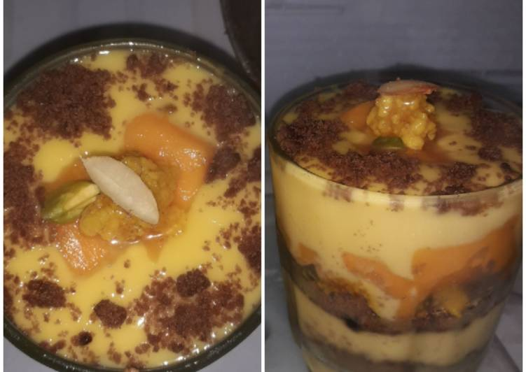 Recipe of Speedy Mango Truffle delight