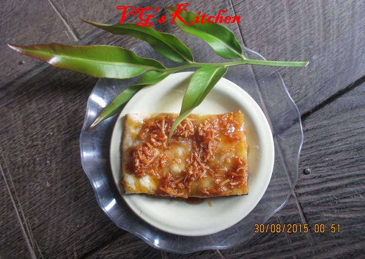 Steps to Prepare Award-winning Baked Banana Bread (ROTI GEDHANG)