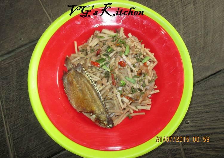 Stir-fried Cassava Peel (KADEDEMES)