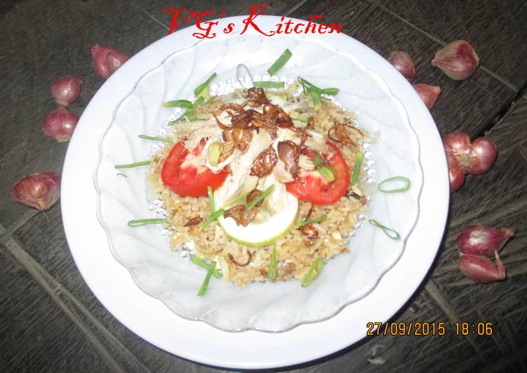 Fried Rice from Central Java (NASI GORENG JAWA TENGAH)