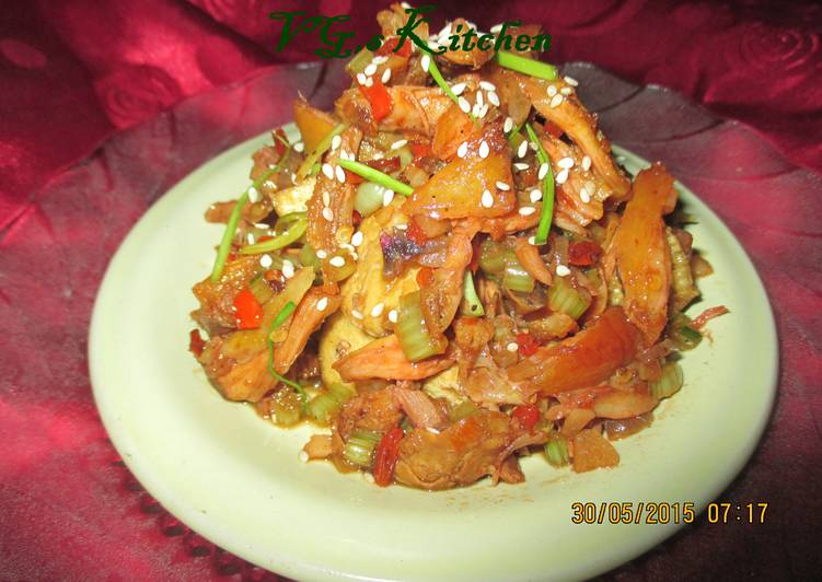Pickled Chicken (ACAR AYAM)