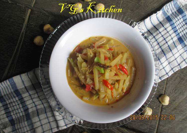 Chayote with Coconut milk (JANGAN JIPANG)