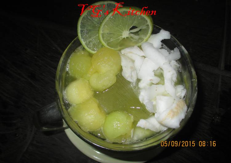 Young Coconut with Melon Juice (CIKAL DOGAN)