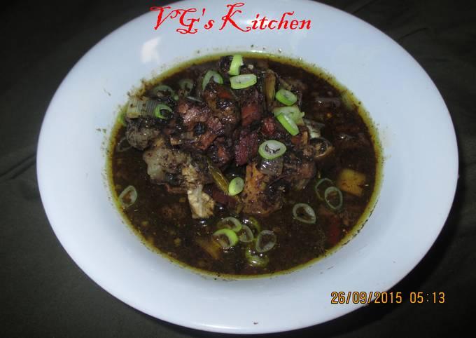 Meat in Black Gravy (RAWON)