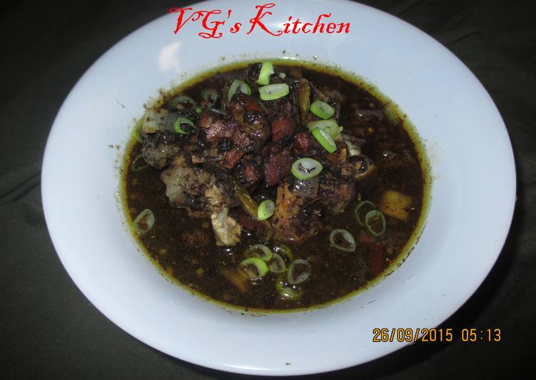 Recipe: Delicious Meat in Black Gravy (RAWON)