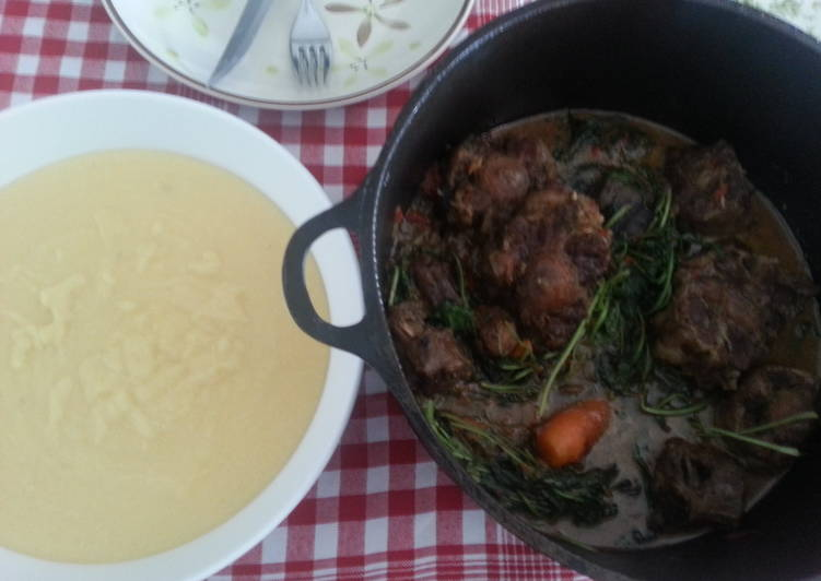 Recipe of Award-winning Oxtail Stew