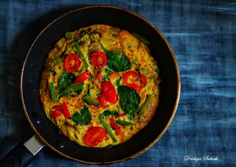 Easiest Way to Make Quick Loaded Spanish Omelet