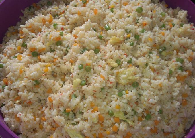 nasi goreng sayuran ceria