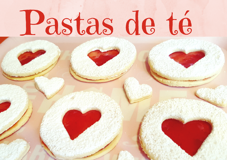 Pastas de té caseras, especiales día de la madre o San Valentín
