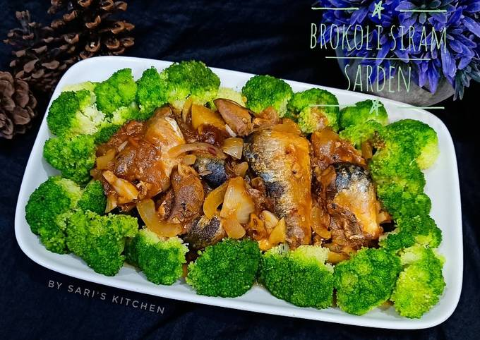 Brokoli Siram Sarden
