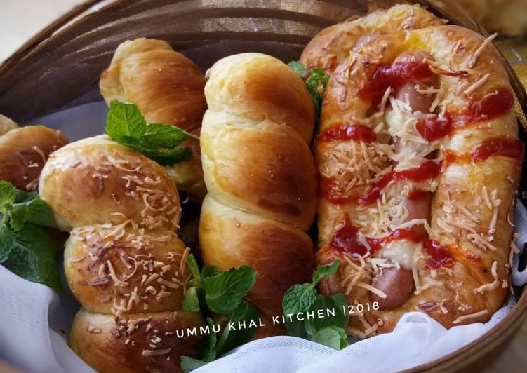 Roti Empuk (Resep dasar roti)