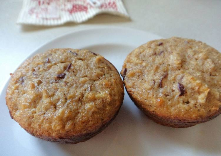 Recipe of Any-night-of-the-week Apple Cinnamon Protein Muffins