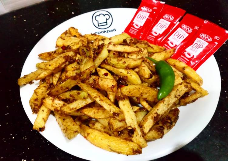 Easiest Recipe: Delicious Masala French fries