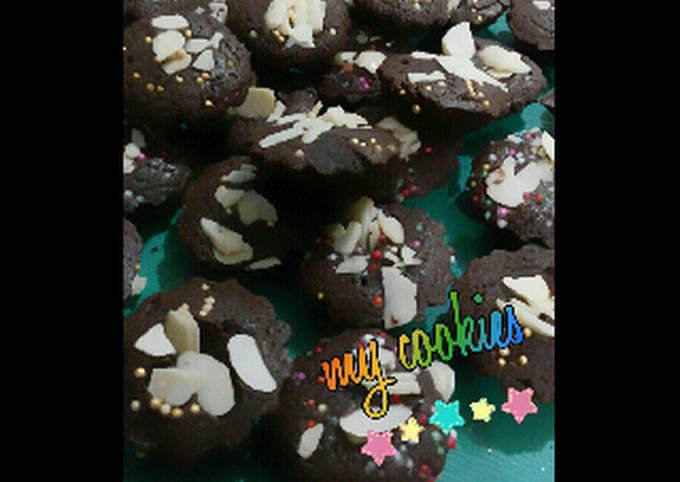 Brownies Panggang Imut Isi Keju