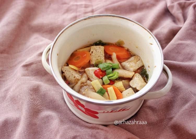 Sapo Tahu (Claypot Tofu) - cookandrecipe.com