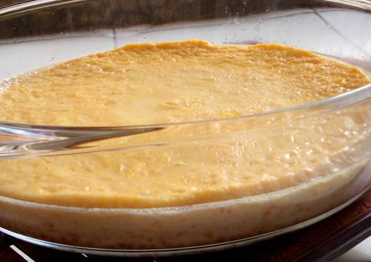 Nameraka Pudding -Japanese Custard Pudding-