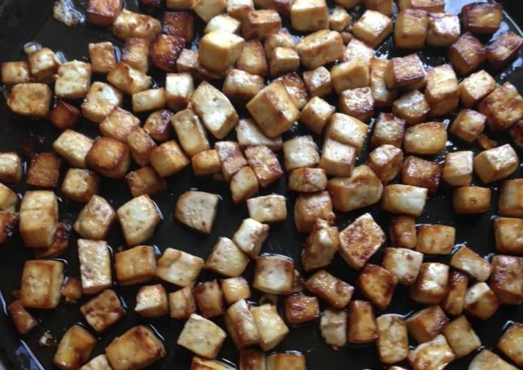 How to Prepare Perfect Sweet-Savory Glazed Tofu