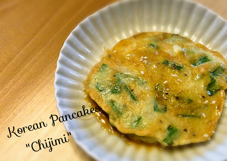 "Scallion Pancake (Korean Pancakes ""Chijimi"")"