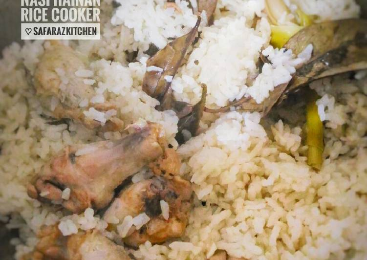 Nasi Ayam Hainan Rice Cooker