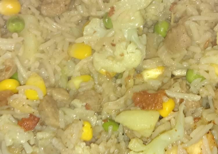 Recipe: Delicious Vegetables pulao