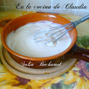 Salsa Bechamel (salsa blanca)