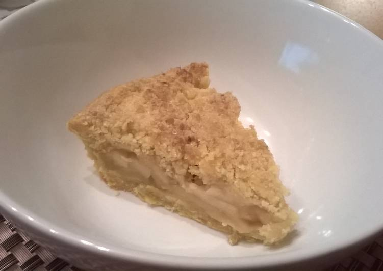 Steps to Prepare Speedy Apple Crumble Pie