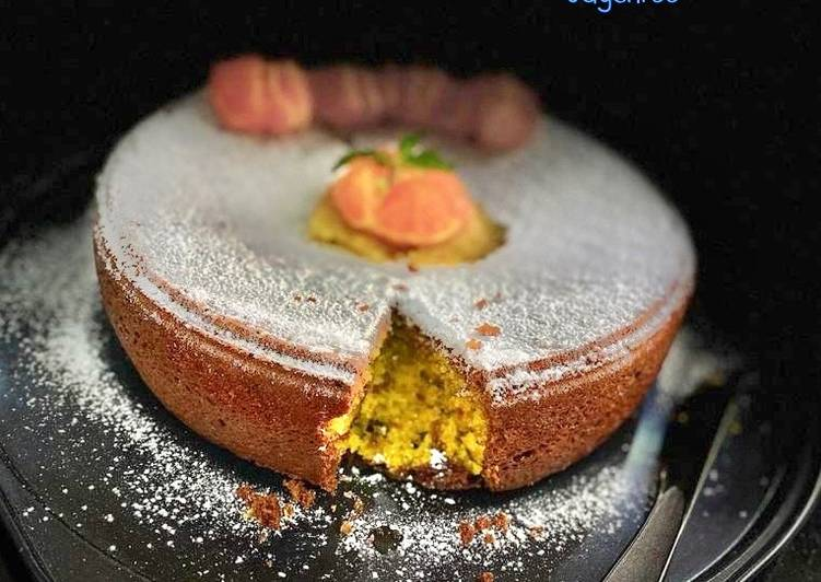 Coconut pineapple and chocolate Orange cake Eggless