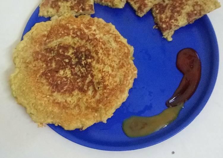 Potato chilli Pancake