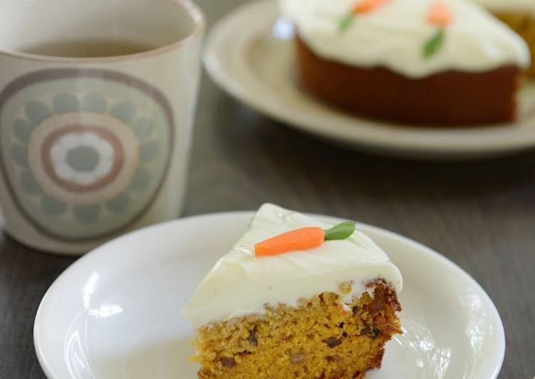 Step-by-Step Guide to Prepare Ultimate Low fat carrot cake