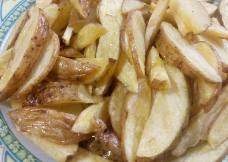 Unpeeled Potato Chips