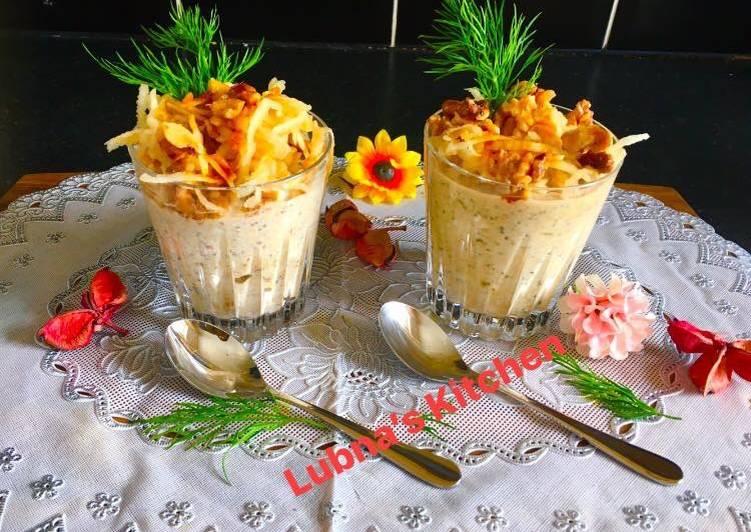 Recipe of Speedy Apple pie oats