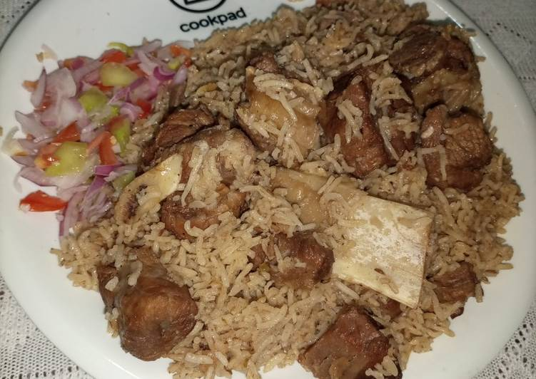 Recipe of Most Popular Beef Pulao