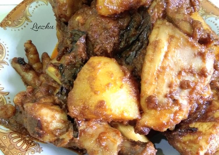 Rendang Ayam+Kentang