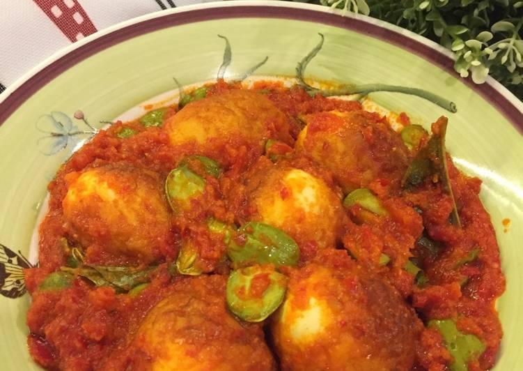 Resep Telur Balado Tidak Pedas Dengan Tips Tanpa Cipratan Minyak Oleh Shirley Ns Cookpad