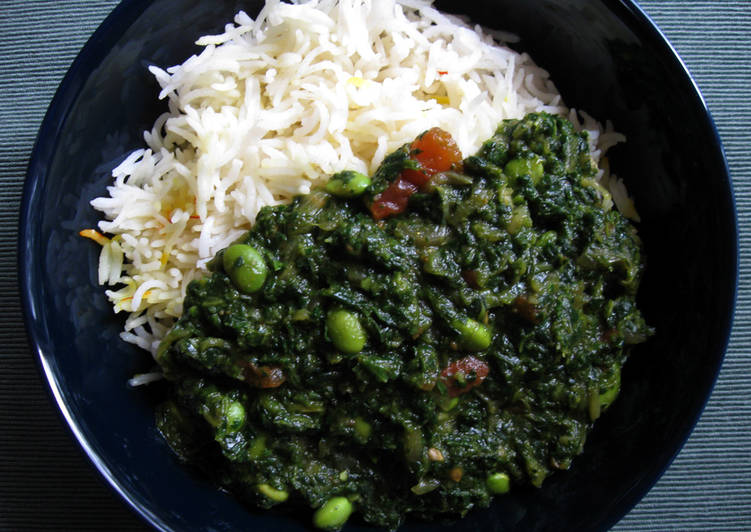 Spinach & Coriander Curry