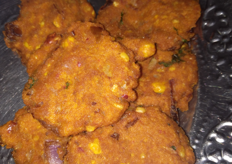 Dal Vada Choosing Healthy and balanced Fast Food
