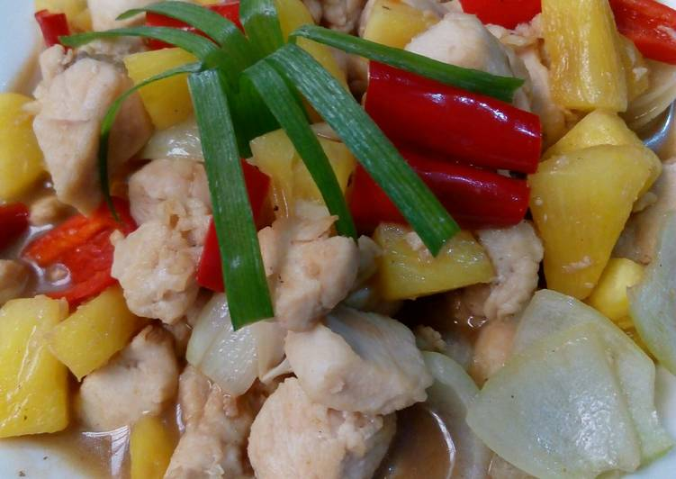 Ayam Fillet Masak Nanas
