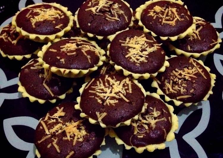 Resep Pie Brownies / Brownies Tart Paling Mudah