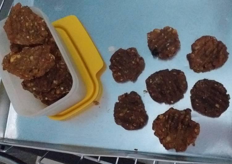 Cookies oat ubi