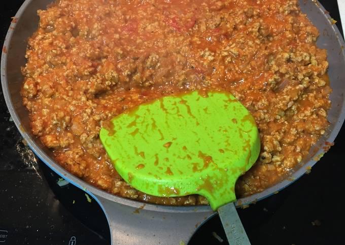 Recipe: Delicious Bolognese Sauce