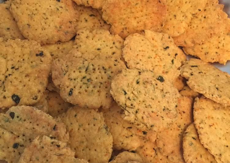 How to Make Ultimate Baked fenugreek mathri