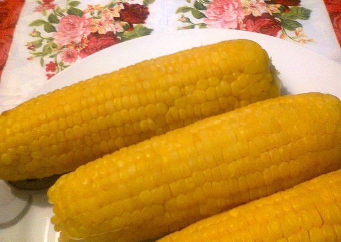طريقة سلق عرانيس الذرة بالصور من Fatima Kitchen Cook كوكباد