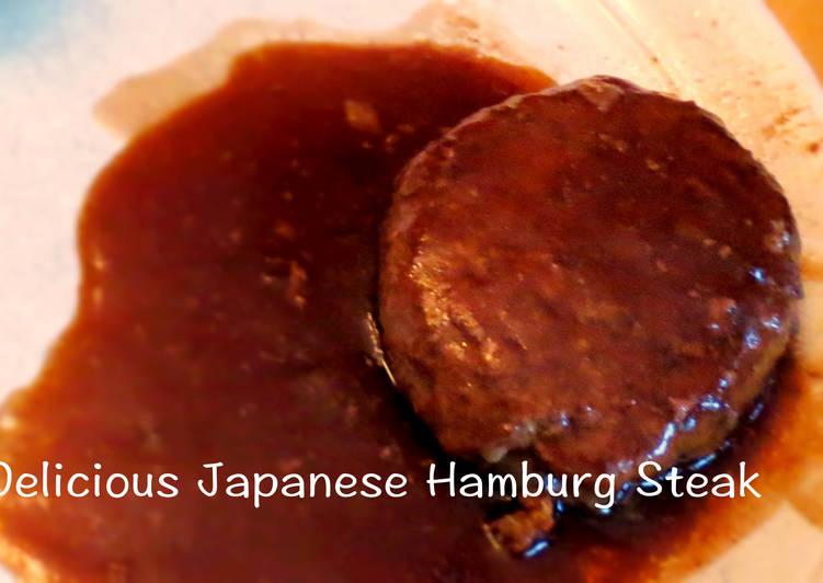Delicious Japanese Hamburg Steak
