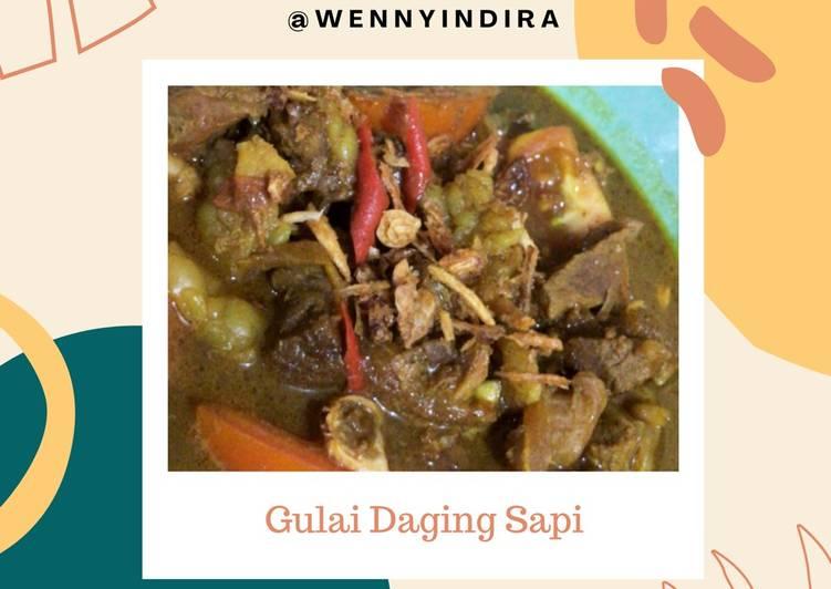 [88] Gulai Daging Sapi