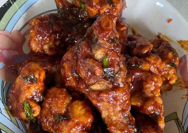 Hot thai chicken / Ayam Thai