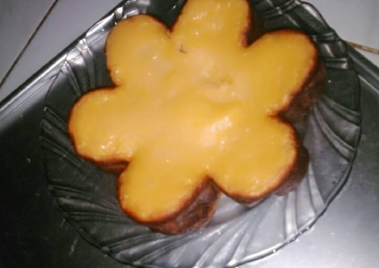 Bingka kentang bakar