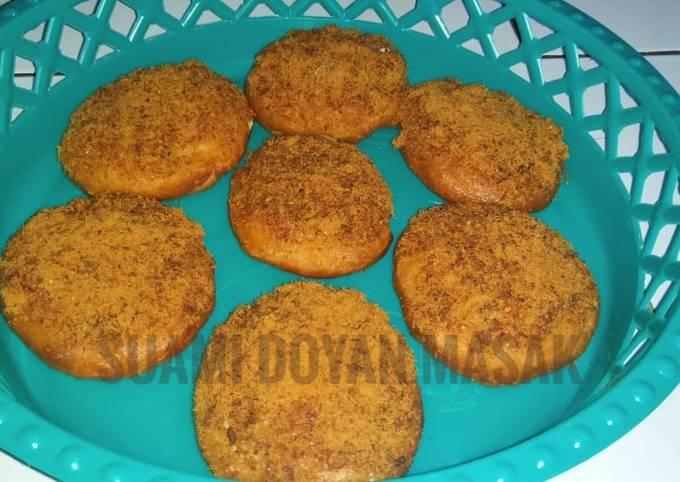 Roti abon sapi (simple)