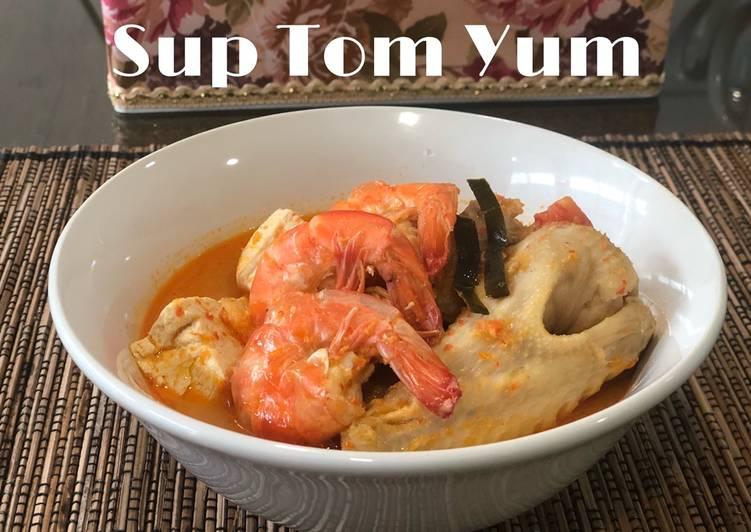 Cara Cepat Membuat Lezat Sup Tom Yum Resep Masakan Dirumah Sehari Hari