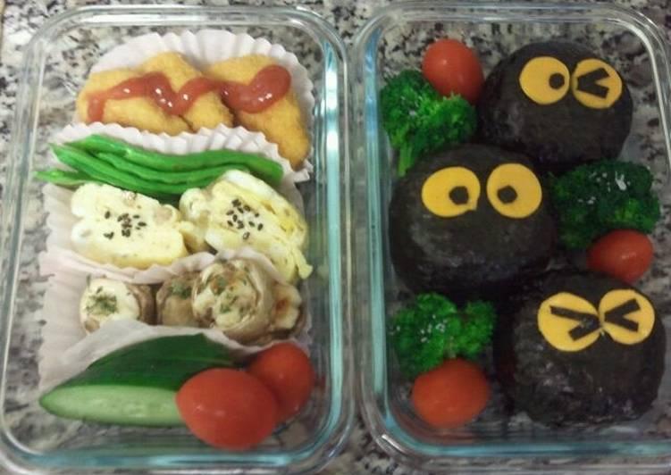 Makkuro Kurosuke Bento (Lunch)